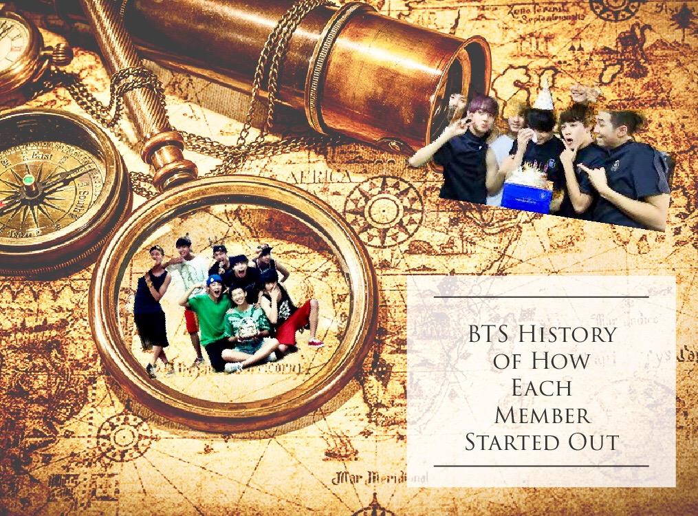 BTS (방탄소년단) History/Backstory of How Each Member