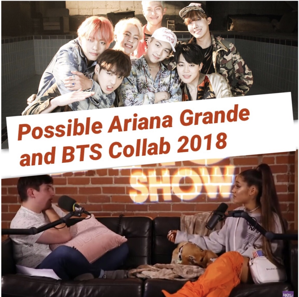 Possible Ariana Grande and BTS Collab 2018??