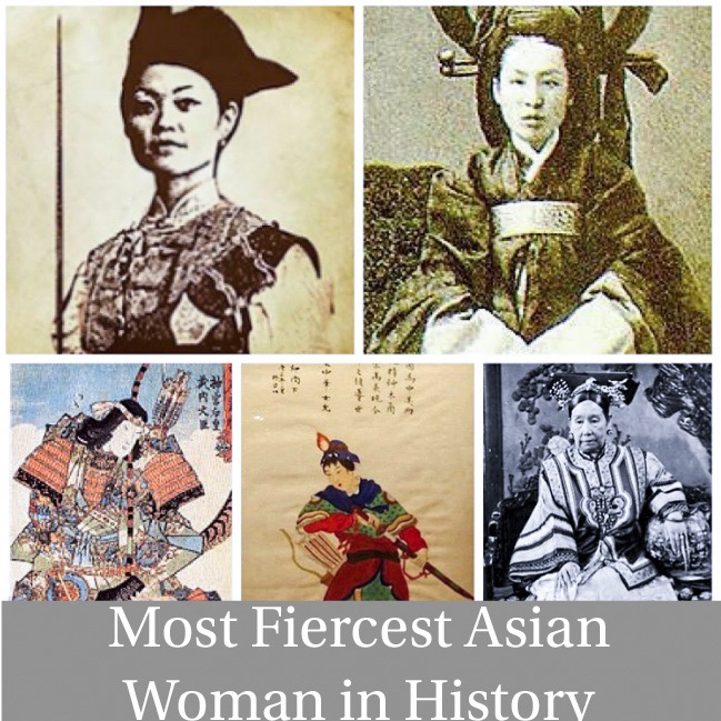 5 Most Fiercest Asian Women in History
