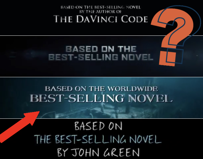 "The Secret Hidden Meaning Behind Movies' ""based on the novel…"" Trailer Note"