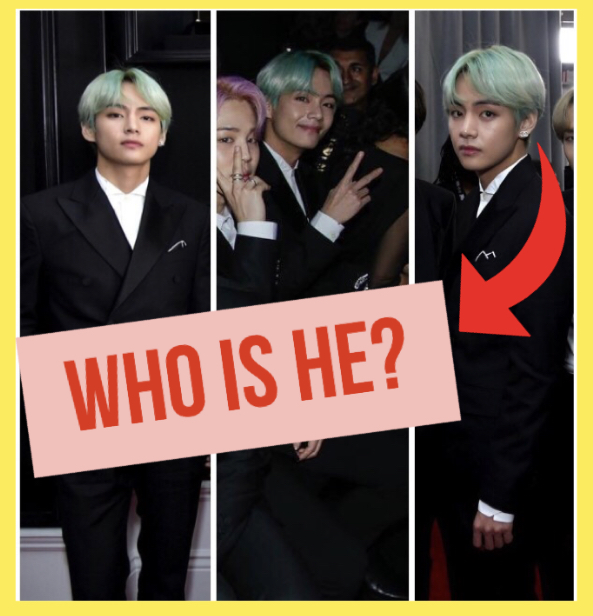 """Who is the guy with green hair?"" 61st Grammy's 2019"