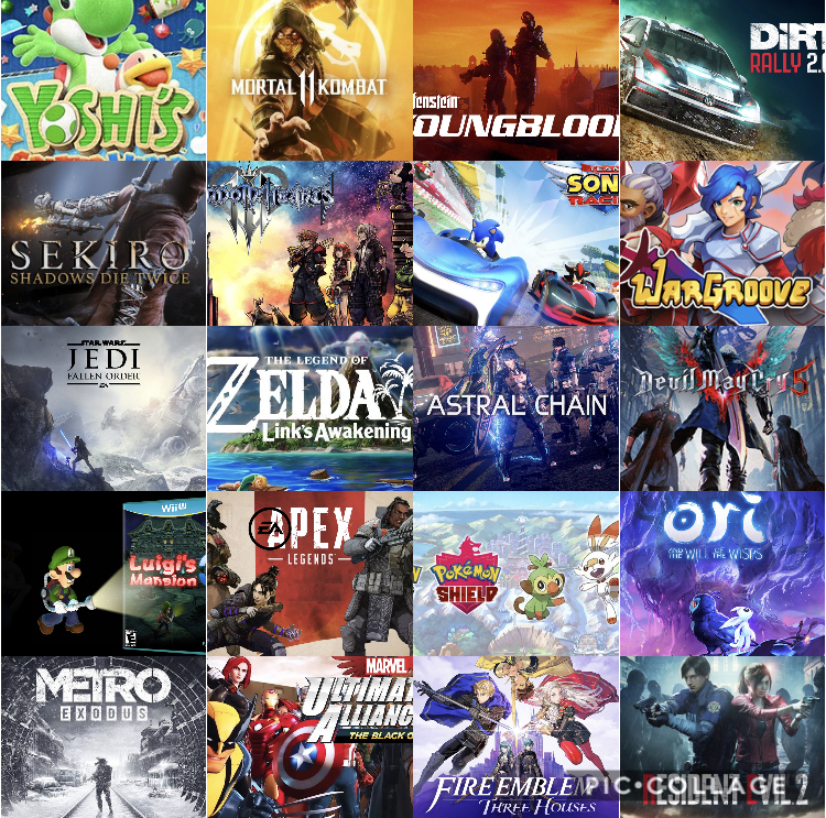 All Video Games Coming Out 2019