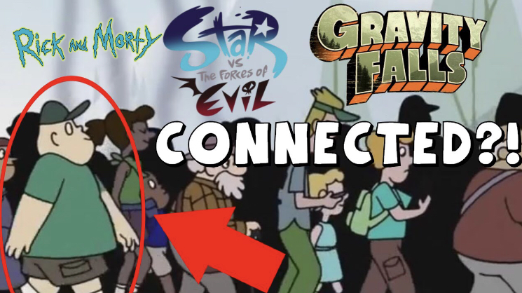 Gravity Falls, Rick and Morty, and Star vs. the Forces of Evil (…) Are All Connected in the Same Universes 2019
